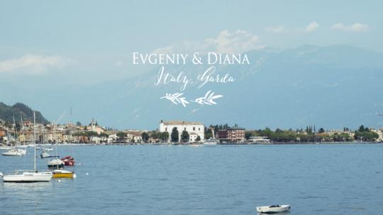 Evgeny & Diana // Isola Del Garda, villa Borgese // Italy Свадьба в Италии